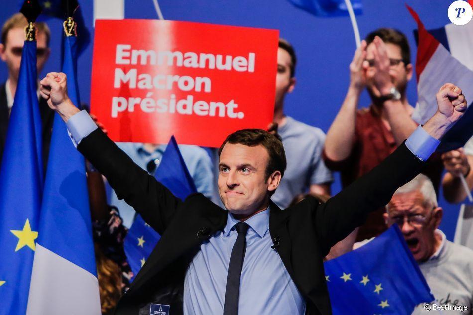 Macron candidat