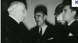 Mitterrand et petain
