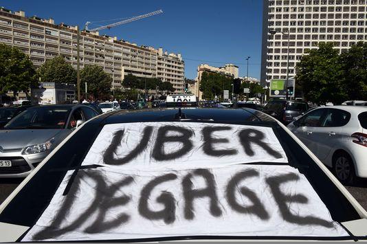 Uber degage